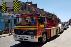 Our meticulously maintained fire engines are  the perfect way to carry your loved one on their final journey