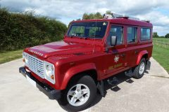 Land Rover Defender 110 Fire Tender