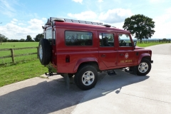 Land Rover Defender 110 Fire Tender