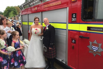 We provide fire engines for your special event