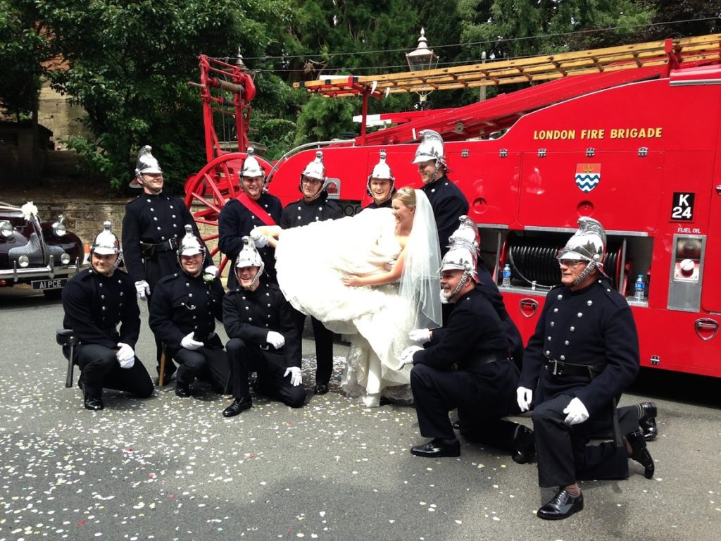 Fire Engine Weddings
